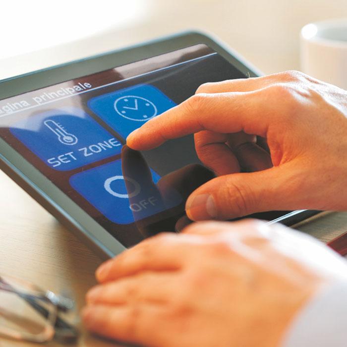 Controllo Remoto Tablet Smartouch Bampi