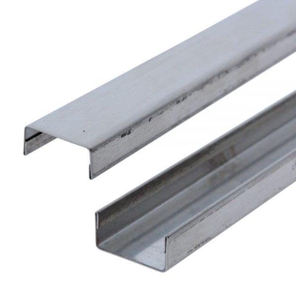 acciaio reversibile canalina