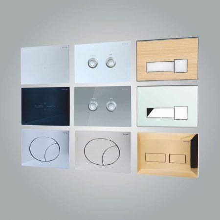Flush Control Plates