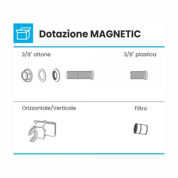 dotazione gallegiante silenzioso magnetic
