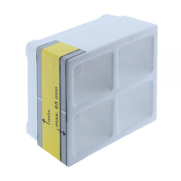 protezione cantiere scatola incasso bamvent